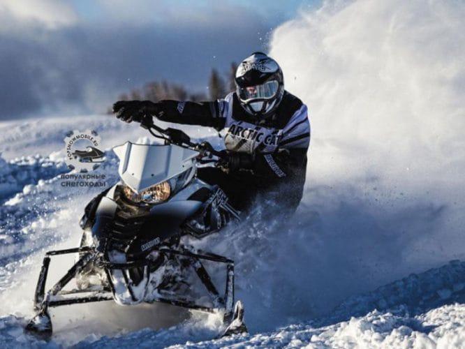 Обзор снегохода Arctic Cat ZR 9000 Limited