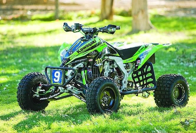 Спортивные квадроциклы Kawasaki