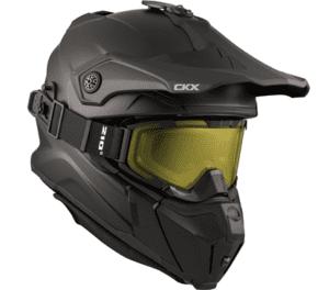 CKX Шлем снегоходный бэккантри  TITAN SOLID черный мат, L 507044