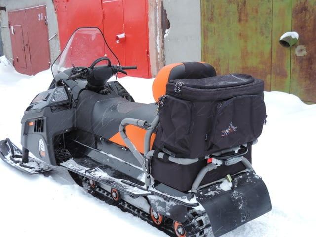 Текстильные кофры для снегоходов