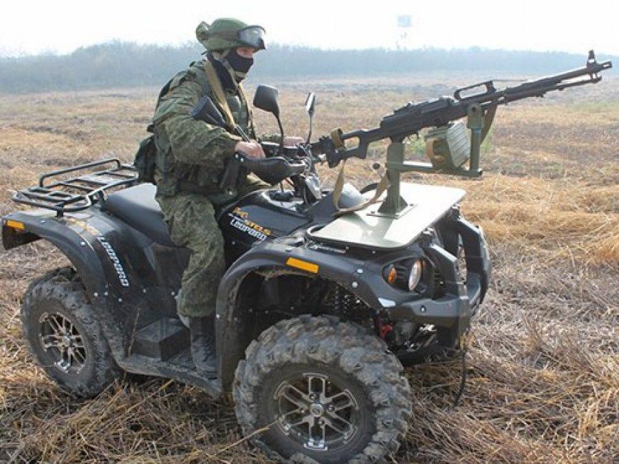 Военные квадроциклы на вооружении России