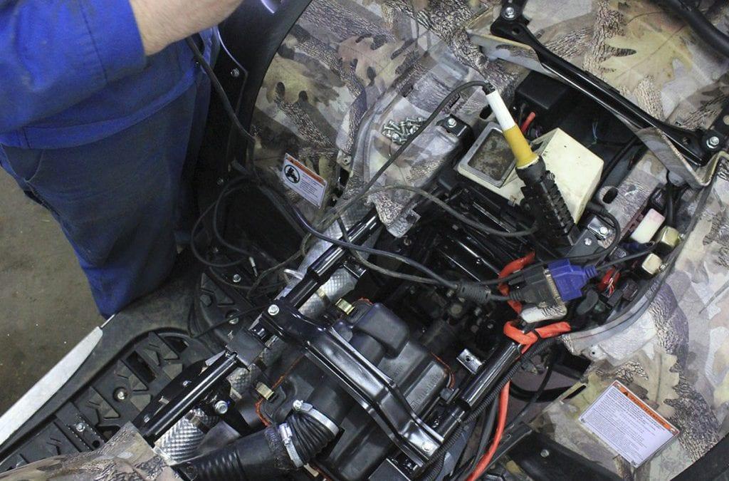 Квадроцикл Ирбис ремонт