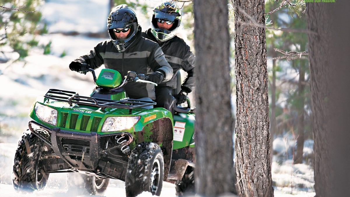 Обзор квадроцикла Arctic Cat TRV 700