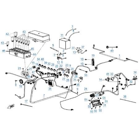 Электрическая система (eps) для CFMOTO U10 EPS