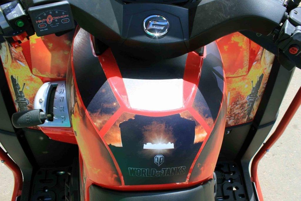 Квадроцикл CFMOTO X8 EFI