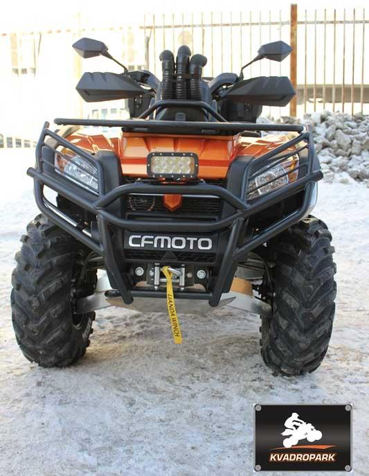 CFMOTO X8 — шноркеля, кенгурины, дополнительный свет, защита днища и рычагов