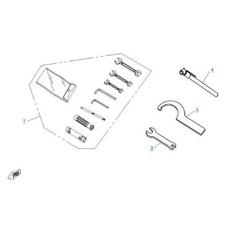 Инструмент для проверки давления в шине