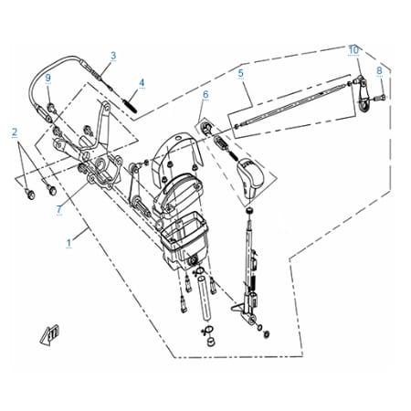 Болт M8x20