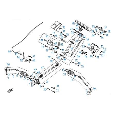 Рулевое управление для CF800-U8 EFI