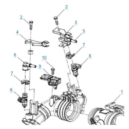Система охлаждения двигателя для CFMOTO Z10 EFI&EPS