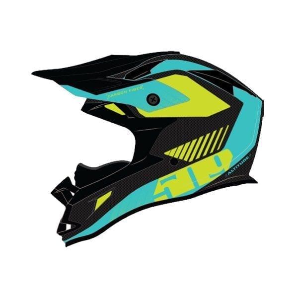 509 Шлем Altitude Carbon Fidlock Teal