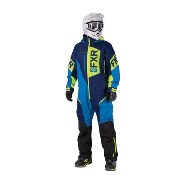 FXR Recruit naby blue hi-vis