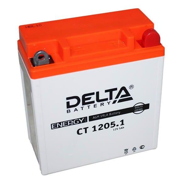 Аккумуляторная батарея Delta CT 1205.1 YB5L-B