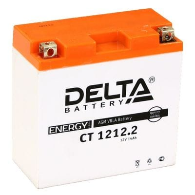 Аккумуляторная батарея Delta CT 1212.2  (Ач-12)   (YT14B-BS   )