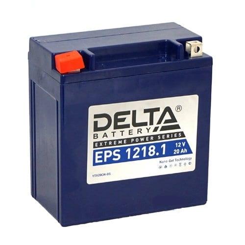 Аккумуляторная батарея Delta EPS 1218.1 YTX20СH-BS