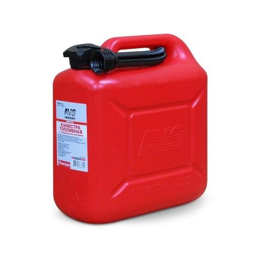 Канистра топливная пластик 10л.(красная) AVS TPK-10