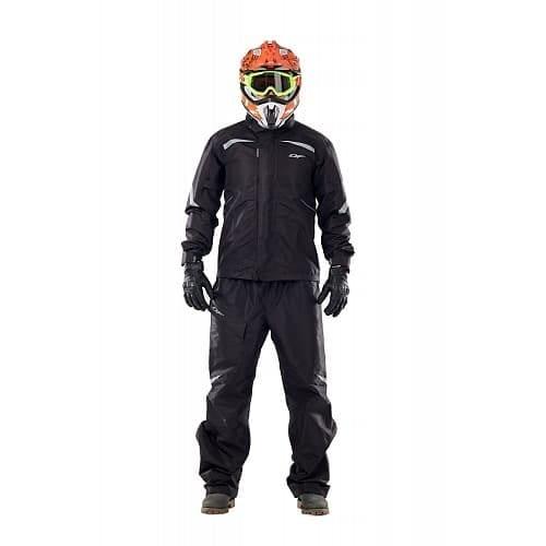 Куртка - дождевик. EVO BLACK (мембрана) (L) 400122-19-300L