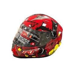 Probiker Шлем (интеграл)  Ricardo Dragon Red