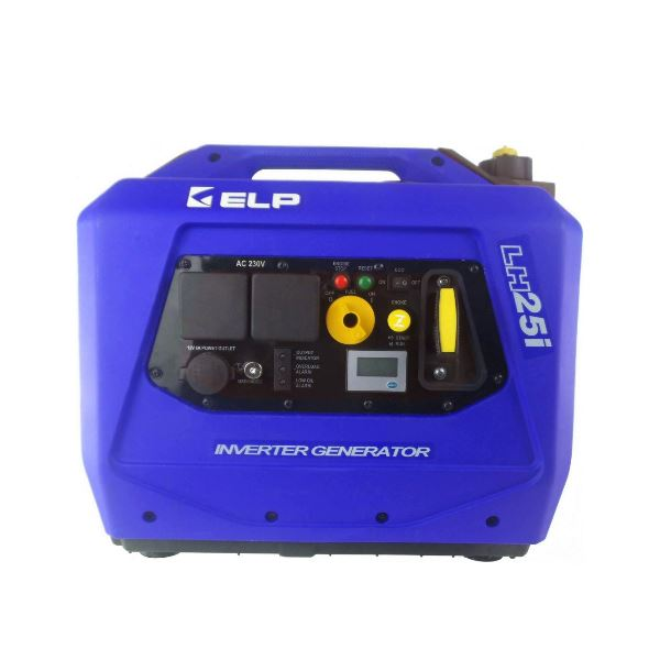 Генератор ELP (синий) 2,5 кВт с кнопкой LH25i-BLUE
