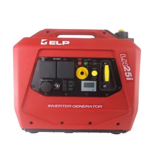 Генератор ELP (красный) 2,5 кВт с кнопкой LH25i-RED