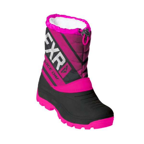 FXR octane child black fuchsia