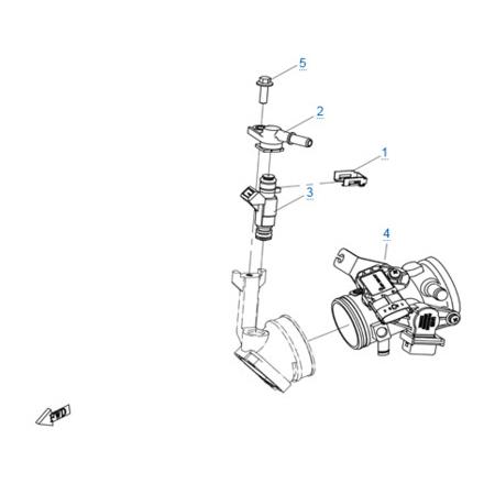 Система управления двигателем для CFORCE 600 EPS