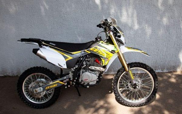 Кроссовый мотоцикл BSE Z3 1